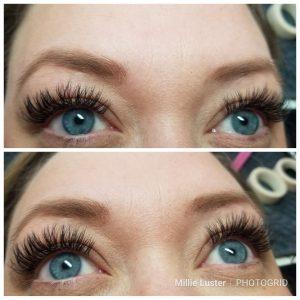 eyelash stylist